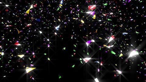 Confetti 2 Move 3LB L 4K CG動画素材