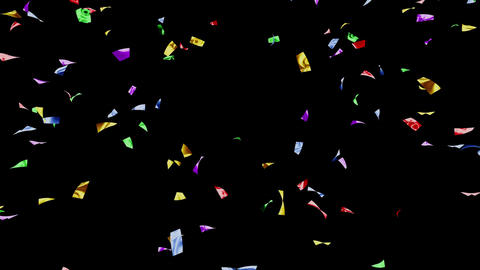 Confetti 2 Move 8LB M 4K CG動画素材