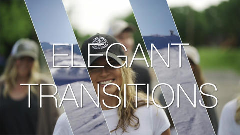 Elegant and Clean Transitions Pack Apple Motion Template