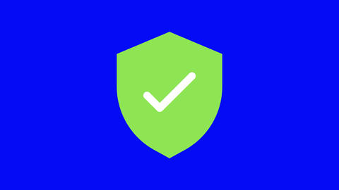 security black icon verification icon protection icon security immigration verification immigration Animation