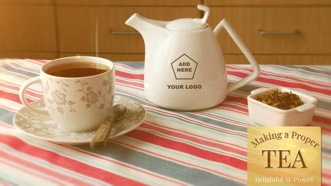 How to make proper tea After Effects Template