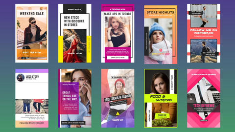 Instagram Stories V 8 0 After Effects Template