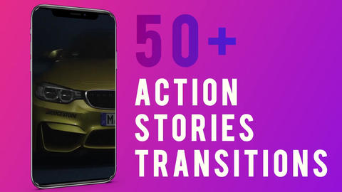 Vertical Transitions After Effects Template