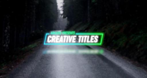 Creative Titles 4k Premiere Pro Template