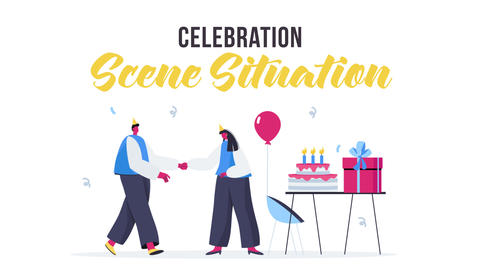 Celebration - Scene Situation After Effects Template