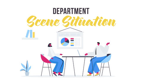 Department - Scene Situation After Effects Template