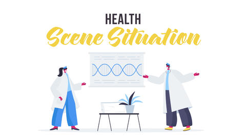 Health - Scene Situation After Effects Template