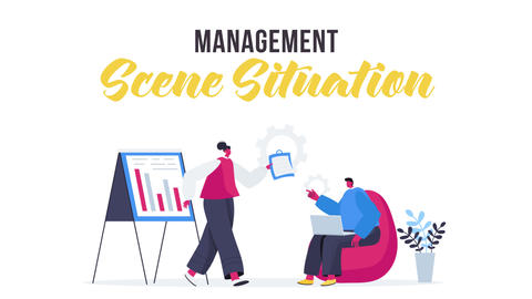 Management - Scene Situation After Effects Template