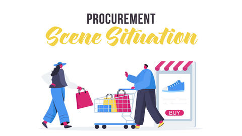 Procurement - Scene Situation After Effects Template