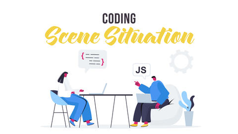 Coding - Scene Situation After Effects Template