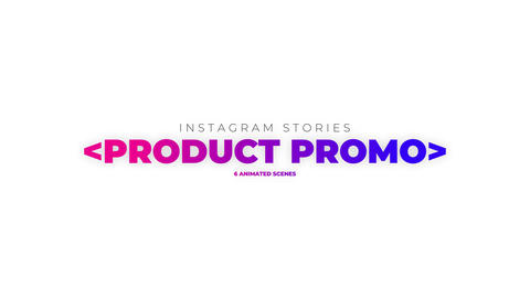 Stories Product Promo After Effects Template