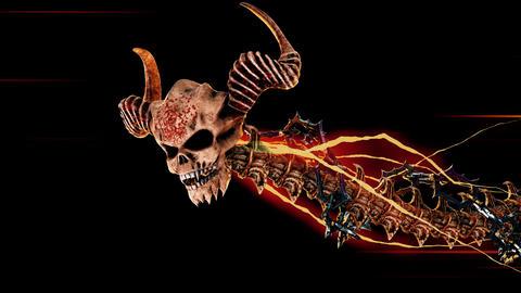 Demon-snake-thunder Animation