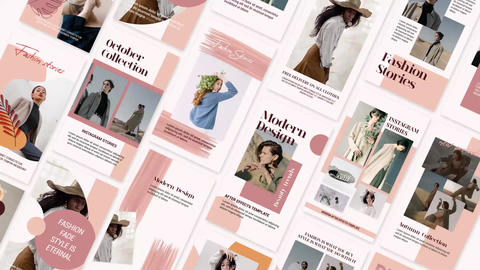 Fashion Stories After Effects Template