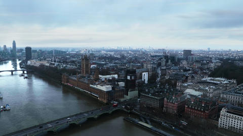 Panoramic view of London Live Action