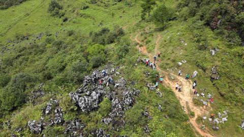 DJI MAVIC2 AIR 4K Mount moliugong Karst scenery 20200905 1 Live Action