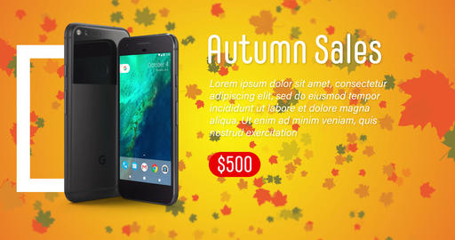 Autumn Sales Promo After Effects Template