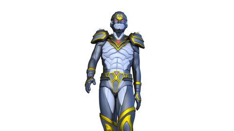 Super hero Animation