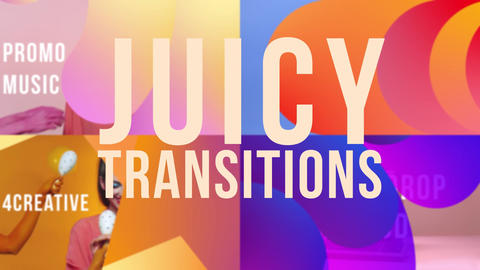 Juicy Transitions After Effects Template