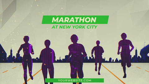 Marathon Intro After Effects Template