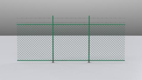 Meshfence 3D Model