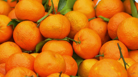 oranges at the fruit market Footage