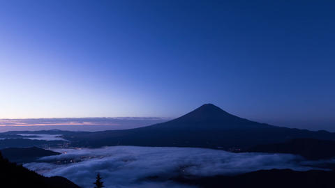 Mt.Fuji sunrise (sea ​​of ​​clouds) Archivo