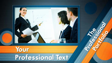 Professional Portfolio Presentation After Effects Templates