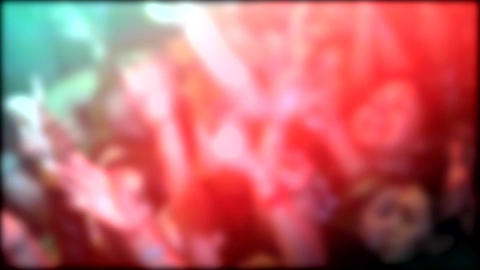 Blurred Crowd Footage