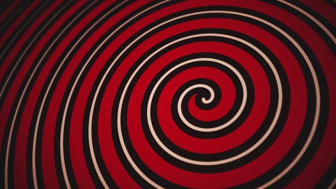 Vintage Circus Spiral Motion Background Animation