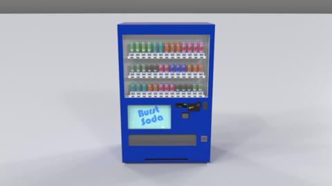 Vending machine01 3D Model