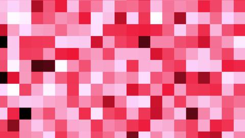 背景素材 赤いタイル状の背景が変化します CG動画