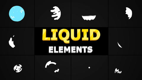 Liquid Circles After Effects Template