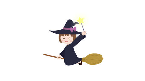Witch girl animation Animation