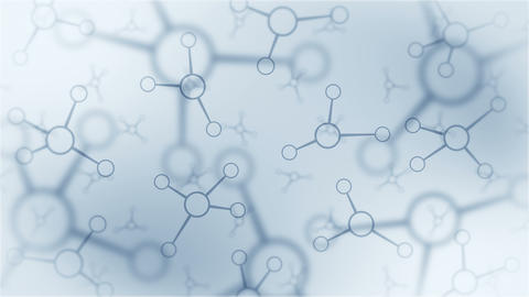 Molecular structure. High tech technology of genetic engineering. Biology, Genetics, Chemistry. Animation