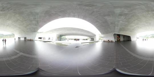 360VR video at Xiangshan visitor center Live Action