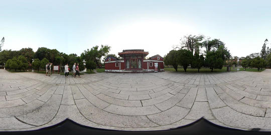 360VR video of Temple of the Five Concubines Live Action