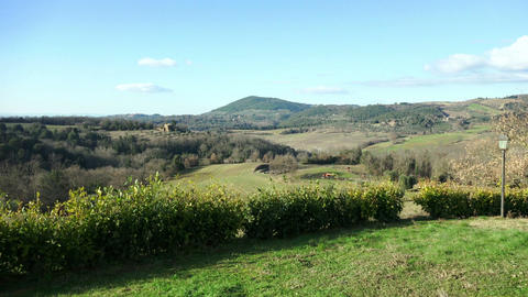tuscany countryside landscape Footage