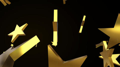 Star polygon particle shatter animation Videos animados