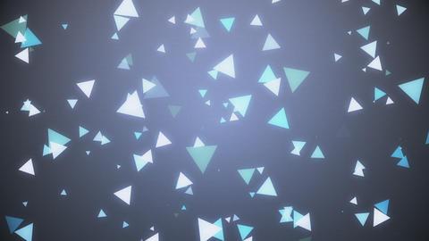 三角パーティクル CG背景 CG動画