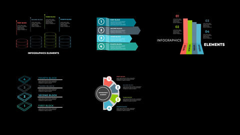 Infographics Elements 04 After Effects Template