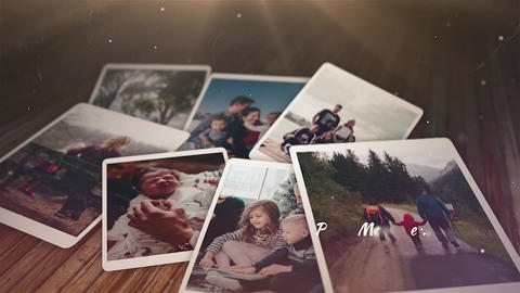 Dramatic Photo Memories Apple Motion Template