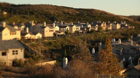 Shots of upscale urban neighborhood Stock Video Footage