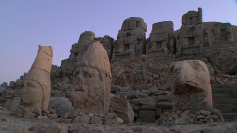 The great archeological ruins on the summit of Mt. Footage