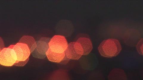 Haifa, Israel is illuminated by city lights Stock Video Footage