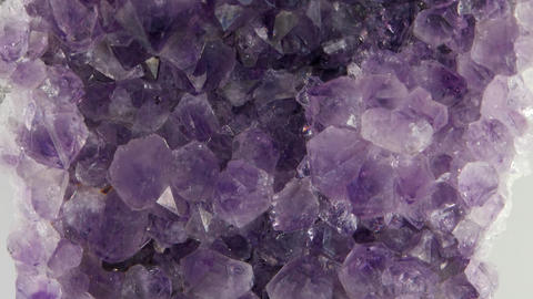 Amethyst, vertical panorama. In the light of the key Footage