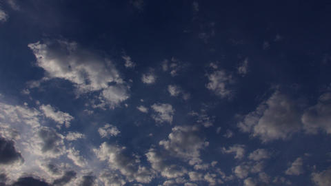 Daytime heavy clouds time lapse