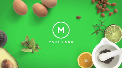 Colorful Cooking Intro After Effects Template