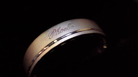 Macro photography of male rings Live Action