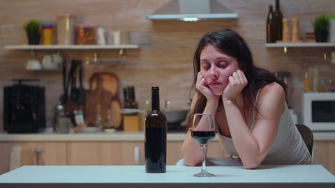 Alcoholic person trying to refrain Live Action