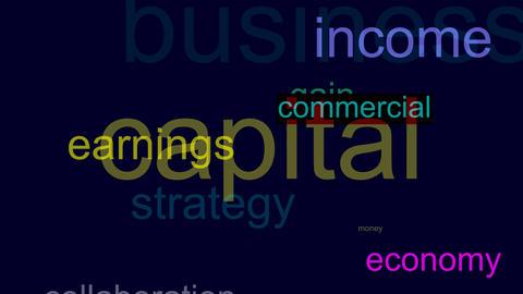 Business success motivation seamless loop video Animation